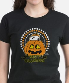 Snoopy and Woodstock Pumpkin Tee