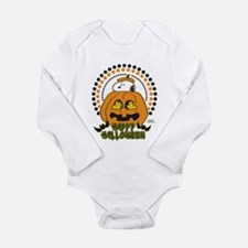 Snoopy and Woodstock P Long Sleeve Infant Bodysuit