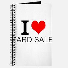 I Love Yard Sales Journal