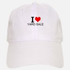 I Love Yard Sales Baseball Baseball Baseball Cap