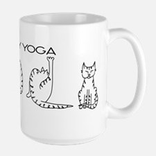 Kitty Yoga Mugs