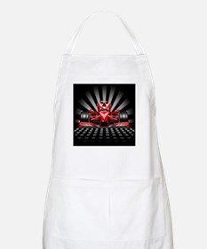 Formula 1 Red Race Car Apron