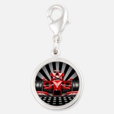 Formula 1 Red Race Car Charms