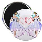 Lesbian Wedding 6 Magnet