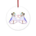Lesbian Wedding 6 Ornament (Round)