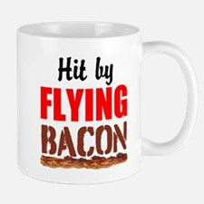 Hit By Flying Bacon Mugs