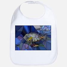 Fish mosaic 001 Bib