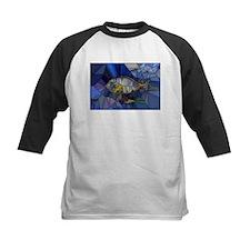 Fish mosaic 001 Baseball Jersey