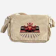 Formula 1 Red Race Car Messenger Bag