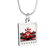 Formula 1 Red Race Car Necklaces