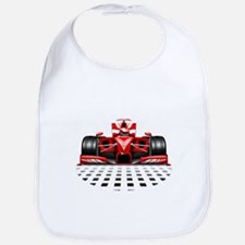 Formula 1 Red Race Car Bib