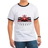 Race car Ringer T