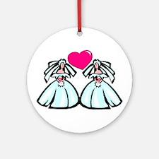 Civil Partnership 4 Ornament (Round)