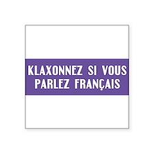 klaxonnez5 Sticker