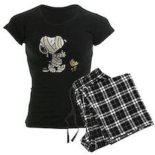 Mummy Snoopy Women's Dark Pajamas