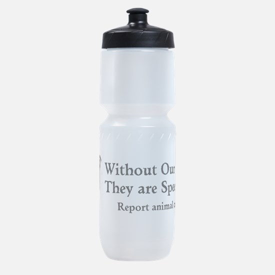Without Our Voice Sports Bottle