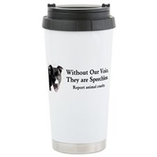 Without Our Voice Travel Mug