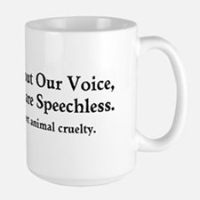 Without Our Voice Mugs