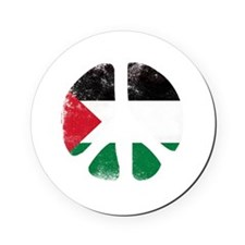 Peace for Palestine Cork Coaster