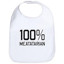 100% Meatatarian Bib