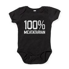 100% Meatatarian Baby Bodysuit
