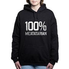 100% Meatatarian Women's Hooded Sweatshirt