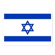 Flag of Israel Postcards (Package of 8)