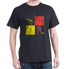 Iron Man Red & Yellow T-Shirt