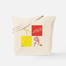 Iron Man Red & Yellow Tote Bag