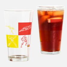 Iron Man Red & Yellow Drinking Glass
