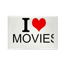 I Love Movies Magnets