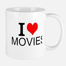 I Love Movies Mugs
