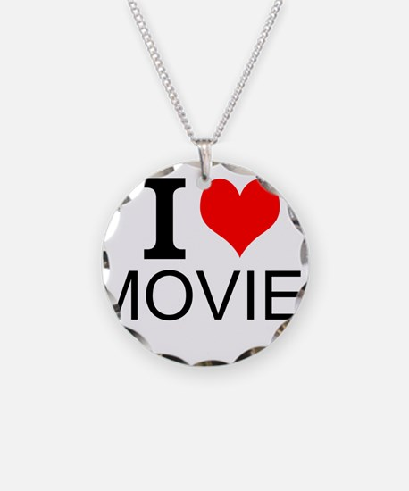 I Love Movies Necklace