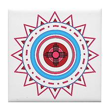 Cute American west Tile Coaster
