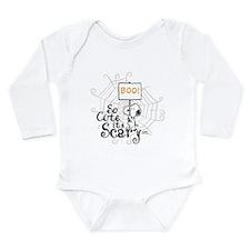 Snoopy: So Cute It's S Long Sleeve Infant Bodysuit