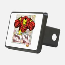 Iron Man Panels Hitch Cover