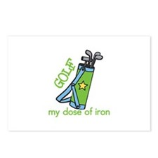 My Dose of Iron Postcards (Package of 8)