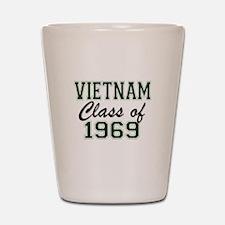 Vietnam Class of 1969 Shot Glass