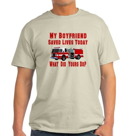 What Did Your Do? Boyfriend Light T-Shirt