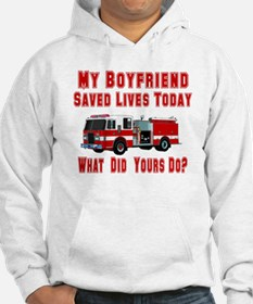 What Did Your Do? Boyfriend Hoodie