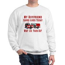 What Did Your Do? Boyfriend Sweatshirt