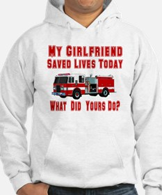 What Did Your's Do? Girlfrien Hoodie