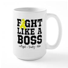 Sarcoma Fight Like a Boss Mug