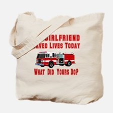 What Did Your's Do? Girlfrien Tote Bag