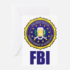 Federal Bureau of Inebriation Greeting Card