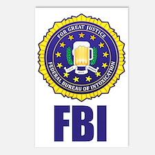 Federal Bureau of Inebria Postcards (Package of 8)