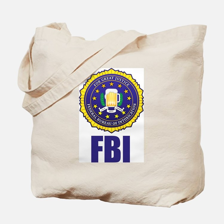 Federal Bureau of Inebriation Tote Bag