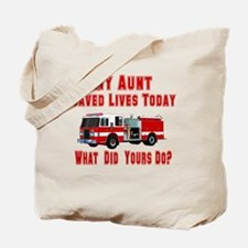 What Did Yours Do? Aunt Tote Bag