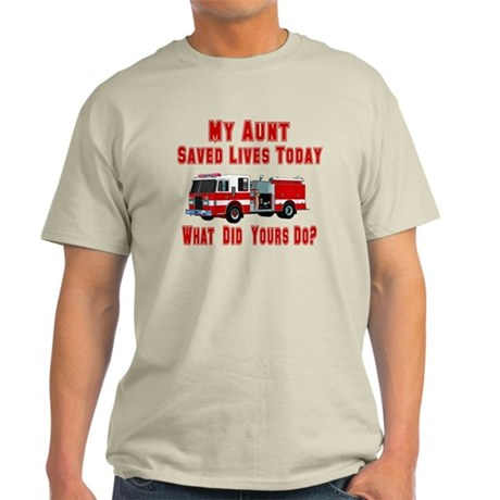 What Did Yours Do? Aunt Light T-Shirt