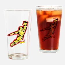 Iron Man Golden Drinking Glass
